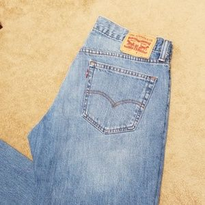 LEVIS 559 mens jeans, relaxed jeans.